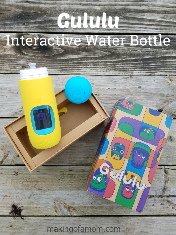 Gululu interactive water bottle