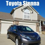 Cruising Through the Holidays in a Toyota Sienna