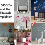 $150 EvgieNev Wall Decal Giveaway