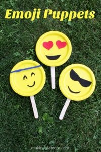 Emoji Puppet Craft