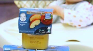 GERBER Baby Food Purees – Just like Homemade