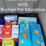 Stocking up for Back to School with Boxtops For Education